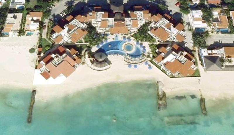 Aerial View - Beach Condo,Playa del Carmen, Great View! 333W - Playa del Carmen - rentals