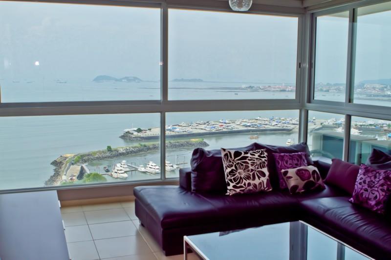 Impressive Condo for Rent in Ave. Balboa - Image 1 - Panama City - rentals