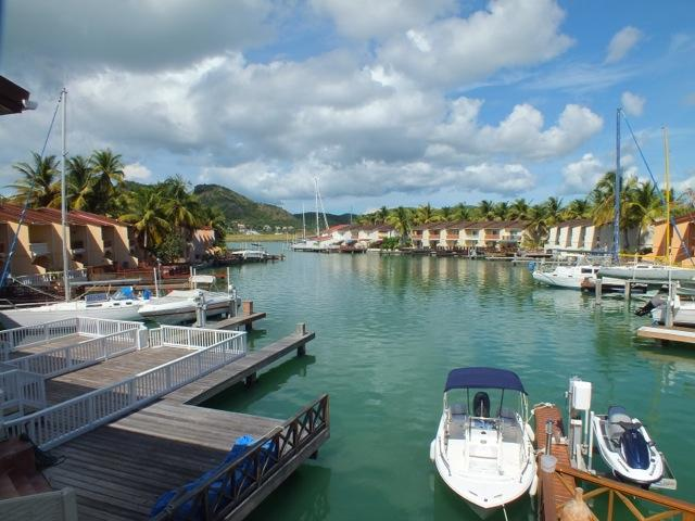 View from villa - Villa 229F, South Finger, Jolly Harbour, Antigua - Saint John's - rentals