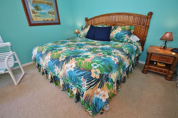 Master Bedroom - Tropical Beach Vacation at Oceanwalk 7 - New Smyrna Beach - rentals