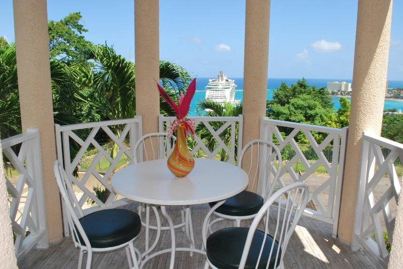 Ocho Rios Ocean/View Quiet Place To Chill on the Hill  24 Security Internet Wi/F - Image 1 - Ocho Rios - rentals