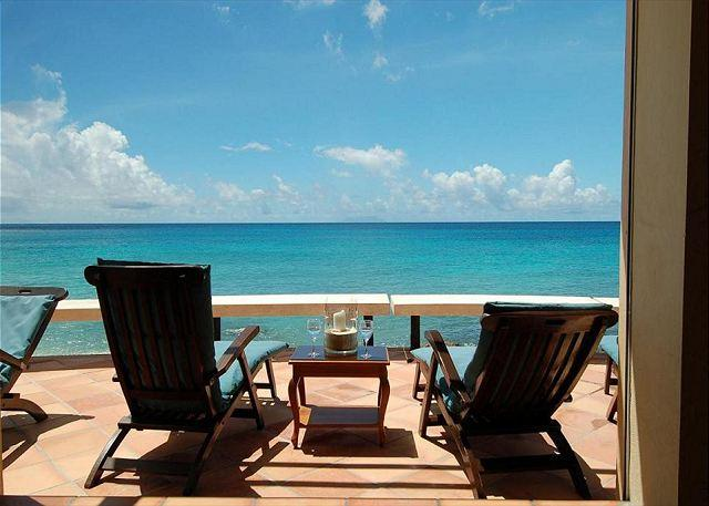 Breathtaking oceanfront views - Faja Lobie: Beautiful 3 bedroom villa on Bourgeaux Bay | Island Properties - Saint Martin-Sint Maarten - rentals