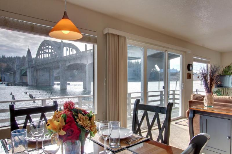 Incredible riverfront oasis with wraparound deck, & cozy interior - Image 1 - Florence - rentals