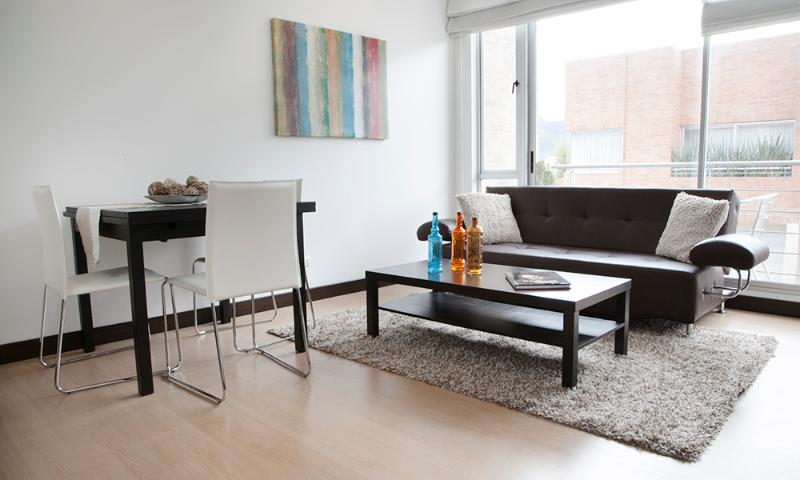 Modern 1 Bedroom Apartment with Views in Chicó Navarra - Image 1 - Bogota - rentals