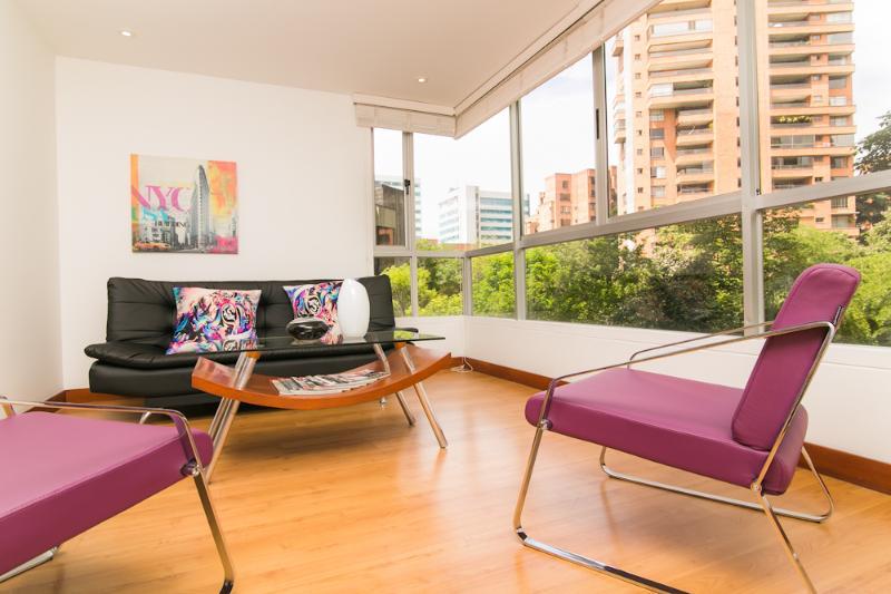Chic 1 Bedroom Apartment with Views in El Poblado - Image 1 - Medellin - rentals