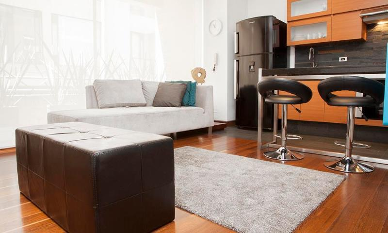 Spacious and Modern 1 Bedroom in Chicó Navarra - Image 1 - Bogota - rentals
