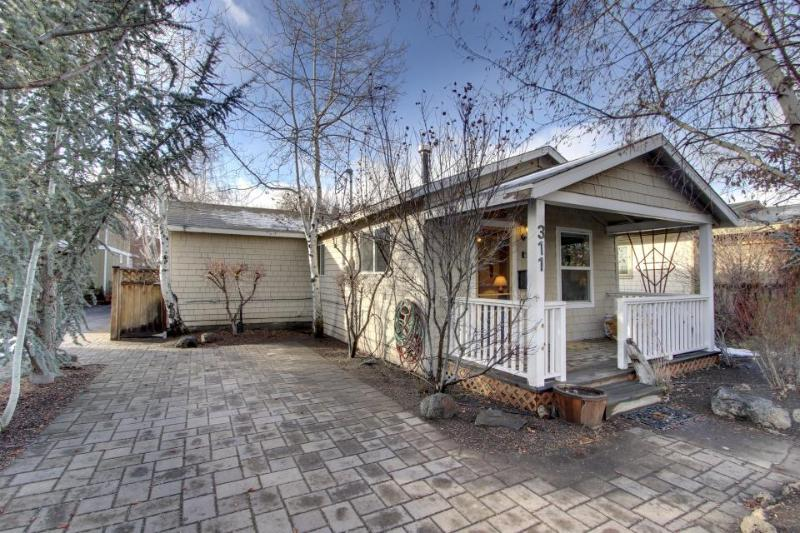 Riverfront home in the heart of Bend with private hot tub - Image 1 - Bend - rentals