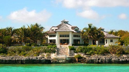 KettleStone Villa from the Ocean - KettleStone Villa - Oceanfront Home  Seaside Pool - Andros - rentals