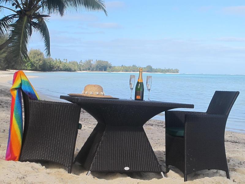 Villa beachfront - Te Ava Beach Villas - Titikaveka - rentals