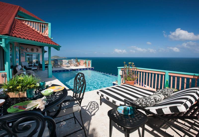 Pool - Seabright | St. Thomas, USVI | 2 Bedrooms, 2 Baths - Saint Thomas - rentals