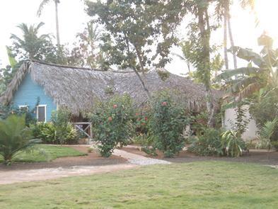 Exterior Front - El Palomar a Rustic Paradise, 2 minutes from beach - Las Terrenas - rentals