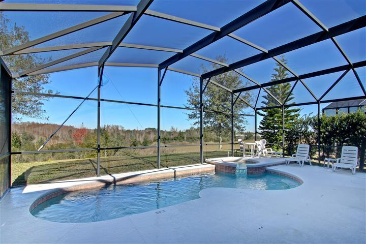 private pool-spa with conservation view - 7BR-Pool-Spa-Wifi-Game Room-Near Disney - Orlando - rentals