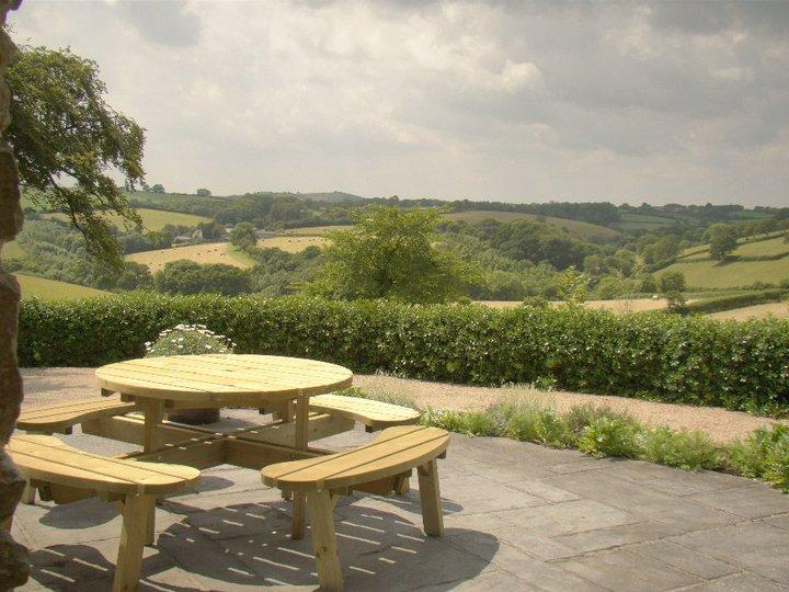 The View from Pippin Cottage Patio - A Beautiful Cottage in Cornwall - Stunning Views - Saltash - rentals