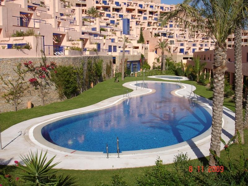 Piscinas de verano - Excelente vivienda en urbanizacion con campo de go - Mojacar - rentals