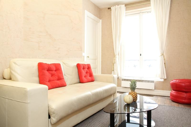 Living Area with a Pull-out Sofa Bed - 31. LATIN QUARTER - PANTHÉON APARTMENT - Paris - rentals