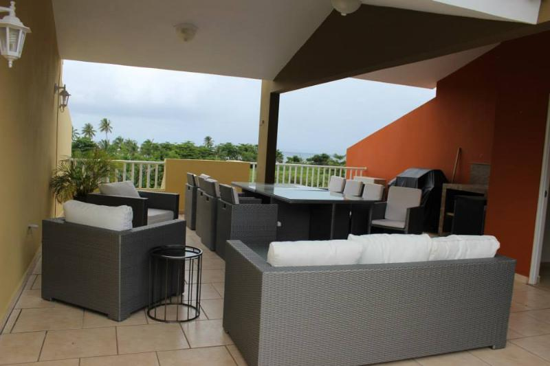 Luxury Landing View 203 -Steps from Sandy Beach - Image 1 - Rincon - rentals