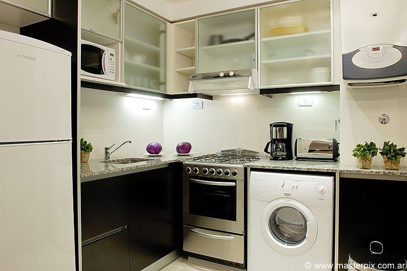 Kitchen - PALERMO UNO STUDIO - (AD5) - BREATHTAKING CITY VIEWS FROM 22nd FLOOR - Buenos Aires - rentals