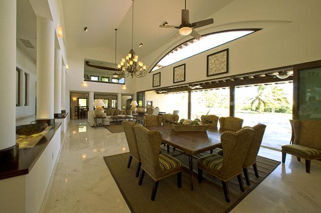 Dining room - Punta Mita - Amazing 5 bedrooms / 5 baths house - Mexican Riviera ( Joya de Silva ) - Cruz de Juanacaxtle - rentals