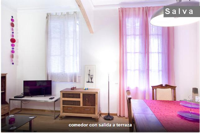 NICE FLAT WITH TERRACE 10 M CENTER - Image 1 - Barcelona - rentals
