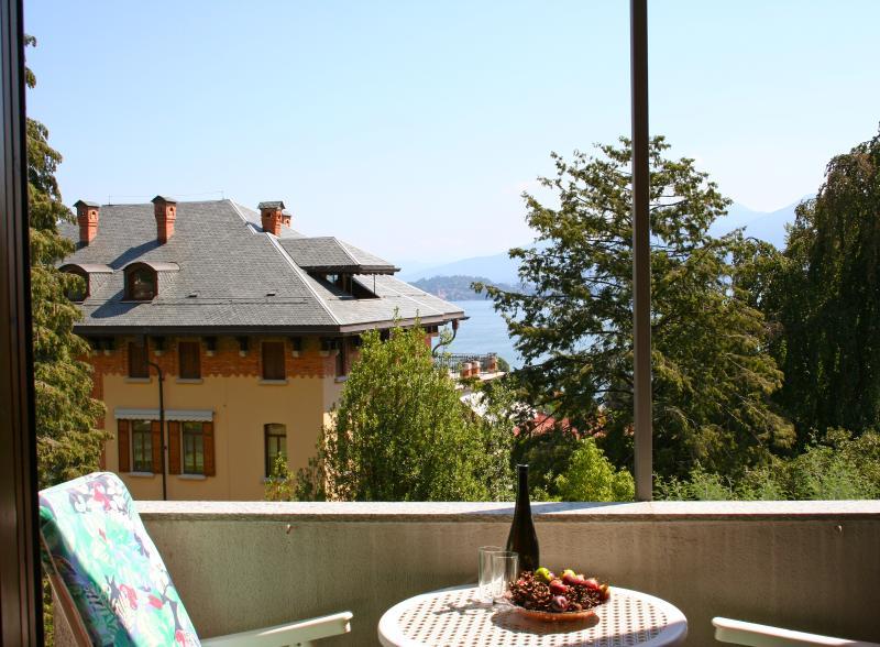 Balcony view - Lake view Baveno 5 pax - Baveno - rentals