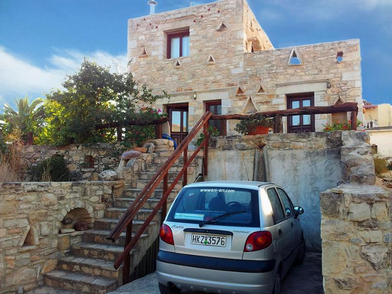 LUXURY STONE VILLA IN SOUTH CRETE , 5 PERSONS , NEARBY THE SEA - Image 1 - Pitsidia - rentals