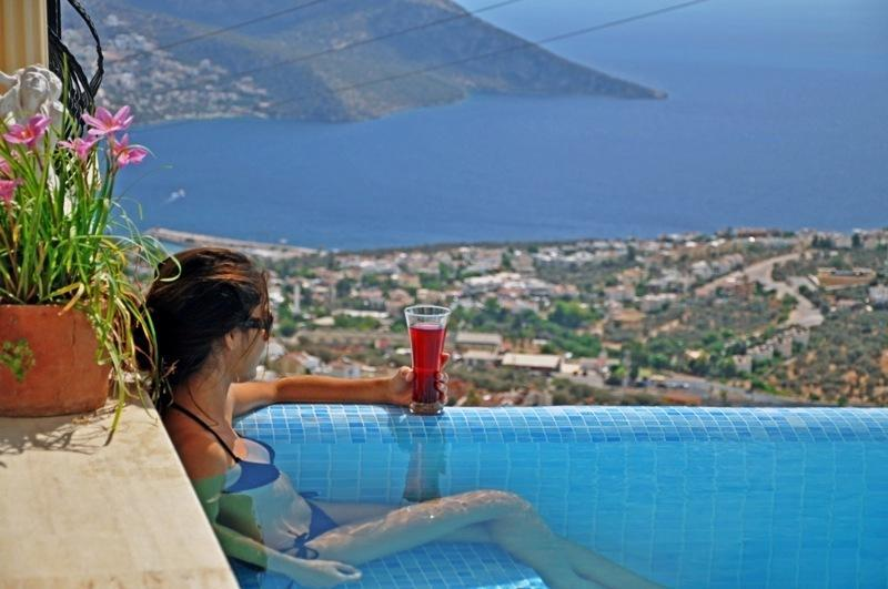 5 Bedrooms Villa Truva With Transfer Uhtkalkan - Image 1 - Kalkan - rentals