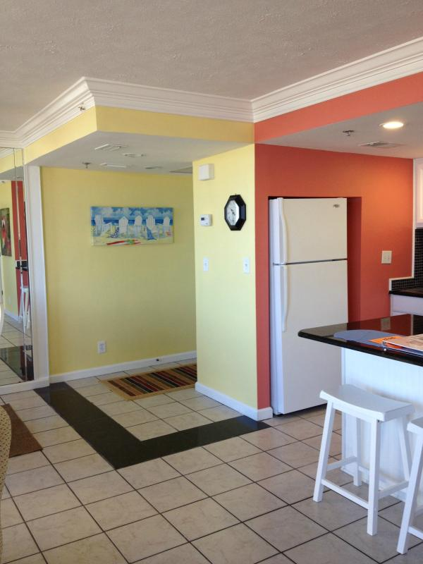 View of entry way - Sunbird - Ground Floor Gulf Front in East Building - Panama City Beach - rentals