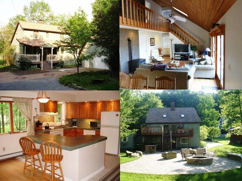 Collage of Pictures - Treasure Lake Waterfront House Rental - Overton's - DuBois - rentals
