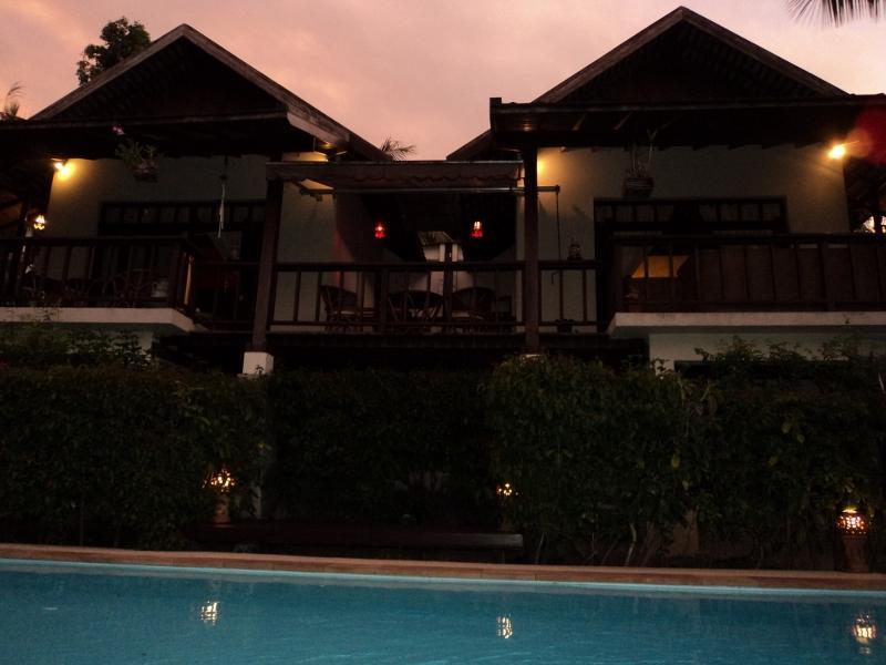 Front house and swimmingpool - VILLA SAMADHI - private swimmingpool - free wifi - Koh Samui - rentals