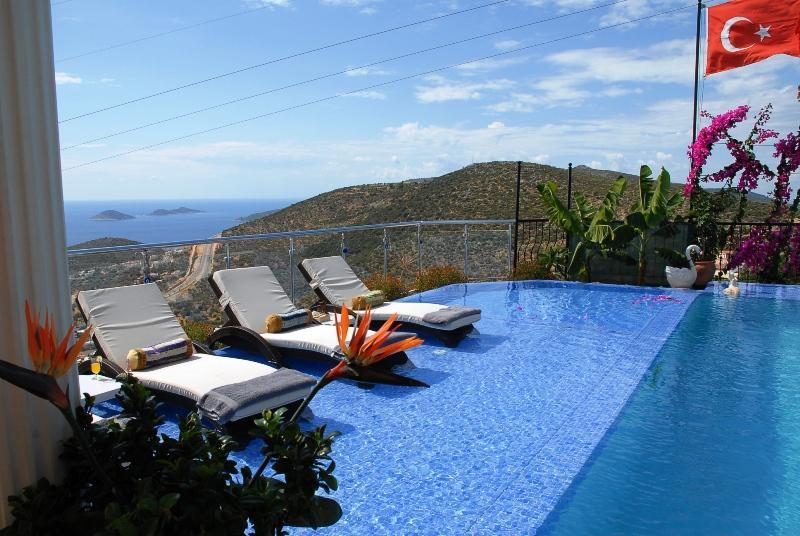 5 Bedroom Luxury Villa (Free Car Hire or Transfer) - Image 1 - Kalkan - rentals