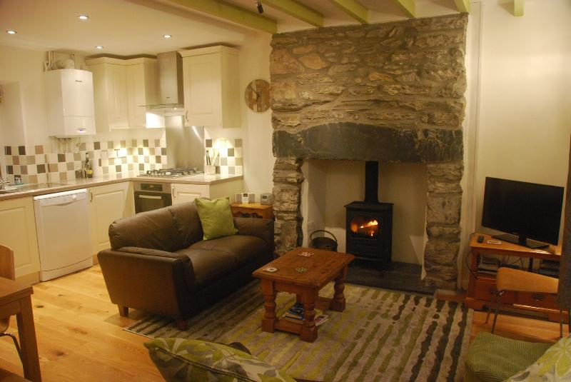 Heart of Snowdonia,  renovated cottage, woodburner - Image 1 - Tanygrisiau - rentals