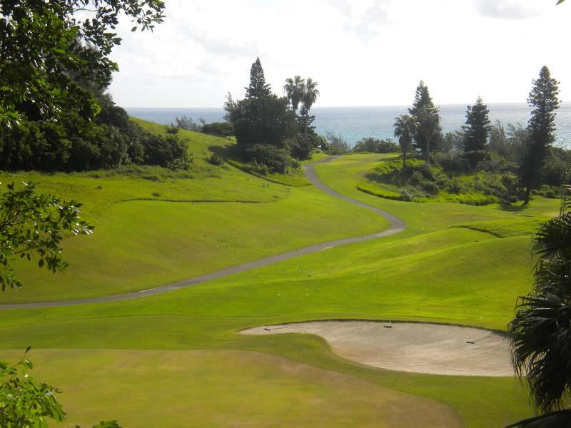 View From Balcony - Gorgeous Ocean and Golf Views! Beautiful, Convenient, Spacious. - Southampton - rentals