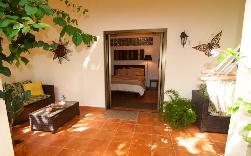 Entrance to Terrace Bedroom - Terrace Bedroom at the Hacienda - Boquete - rentals