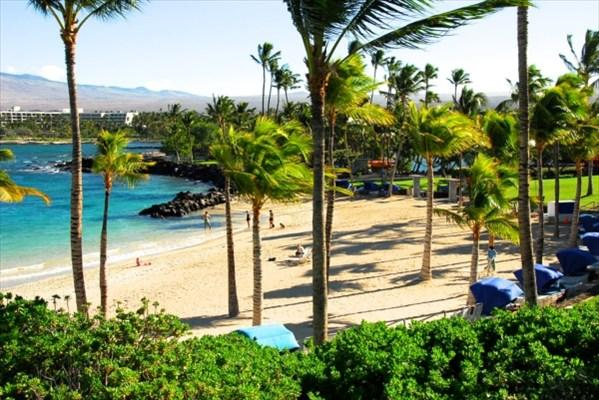 Private beach club with key-card access. - Immaculate Elegance in Hawaii's Finest Resort - Kamuela - rentals