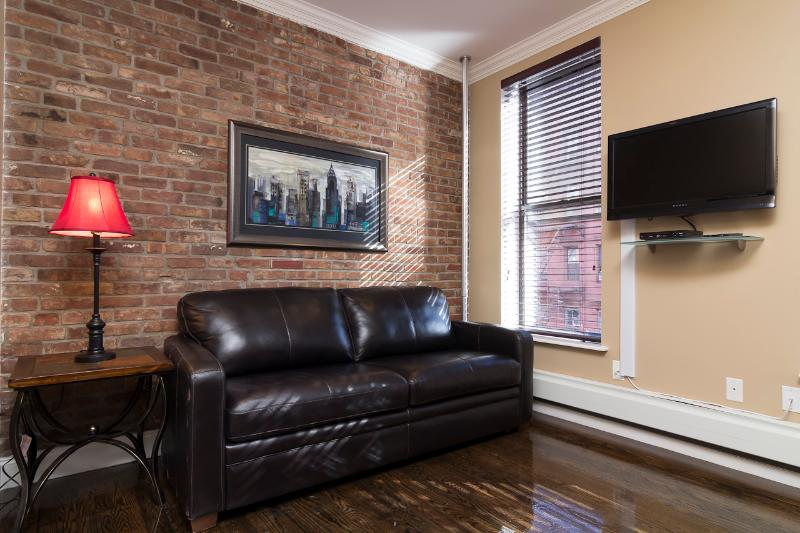 Living Room with sleep sofa - Sleeps 7! 3 Bed/2 Bath Apartment, East Village, Awesome! (8353) - New York City - rentals