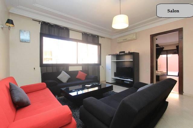 lounge - very nice one bedroom in Marrakech - Marrakech - rentals