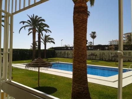 View from Balcony - Apartment on Torrecilla Beach, Nerja, Spain - Nerja - rentals