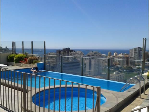 Pleno Centro Viña 2D/2B+Parking - Vistas Caminable - Image 1 - Vina del Mar - rentals