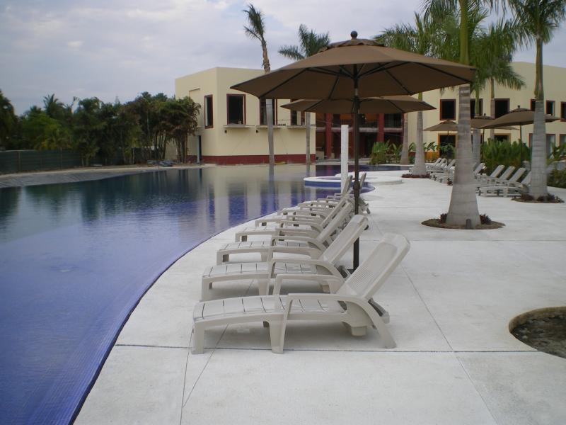One of Taheima's two pools - Golf Course Resort in Beautiful Puerto Vallarta - Nuevo Vallarta - rentals