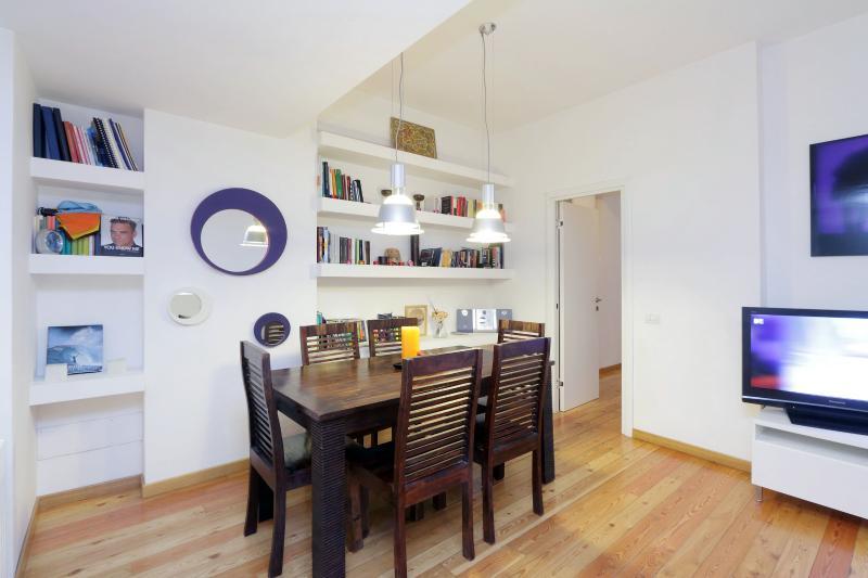 Living Room - Atelier San Pietro - Stylish apt close to history - Rome - rentals
