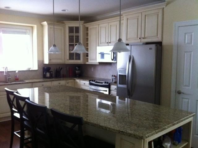 Gourmet kitchen with seating for 10 - Fabulous Carolina Beach rental One block from ocea - Carolina Beach - rentals