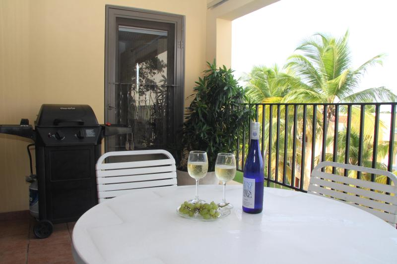 Your balcony relax and enjoy some wine - Executive Palmas Del Mar Resort villa near the Beach - Humacao - rentals