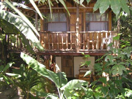 Front of treehouse - Popo's treehouses, Carrillo Beach, Surfing, Kayaki - Playa Samara - rentals