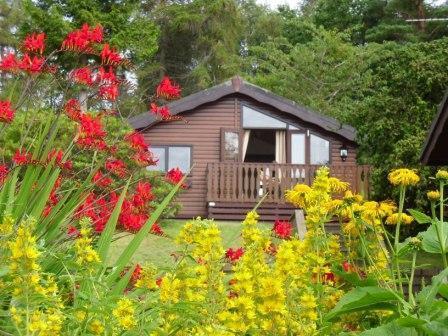 Locheil chalet set amongst beautiful gardens - Locheil 4 star Chalet - Fort William - rentals