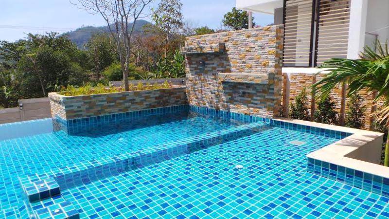 Lovely pool - New Finished Luxury and Stylish Condo Kathu Phuket - Kathu - rentals