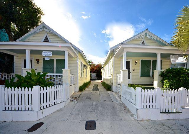 "Comprised of Two Cigar Makers Cottages, Tradewinds is Truly Unique. - ""TRADEWINDS""  Private Parking - Two Private Hot Tubs - 1/2 Block To Duval! - Key West - rentals"