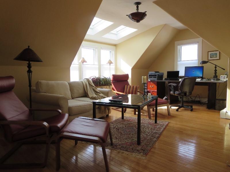 Living room - Newport Adorable Apt. Historic Hill 1 Bdrm - Newport - rentals