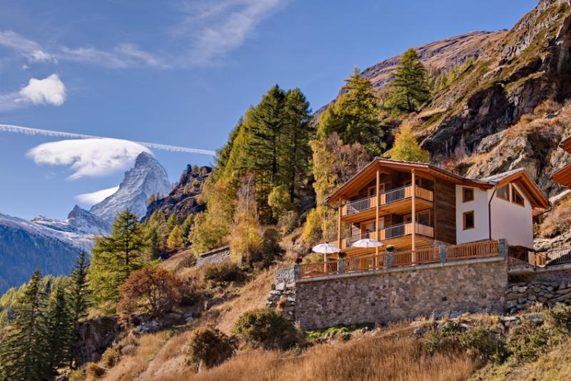 Summer - Chalet Gemini Mountain Exposure Zermatt - Serviced,independent,Sauna,Hot Tub - Zermatt - rentals
