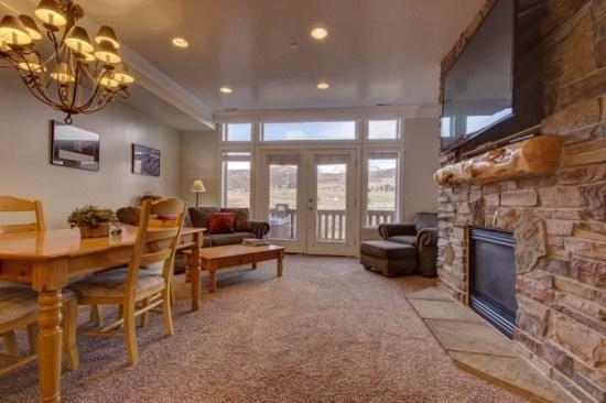 Snowbasin South View Condo | Luxury 2 Bedroom | Lakeside Unit 18 - Image 1 - Huntsville - rentals
