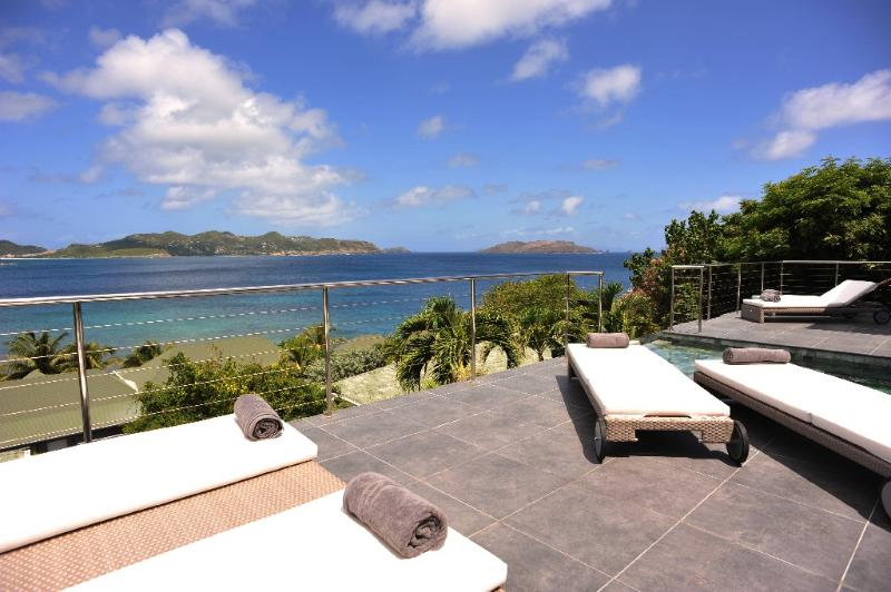 Mirande at Pointe Milou, St. Barth - Ocean View, Amazing Sunset Views - Image 1 - Pointe Milou - rentals